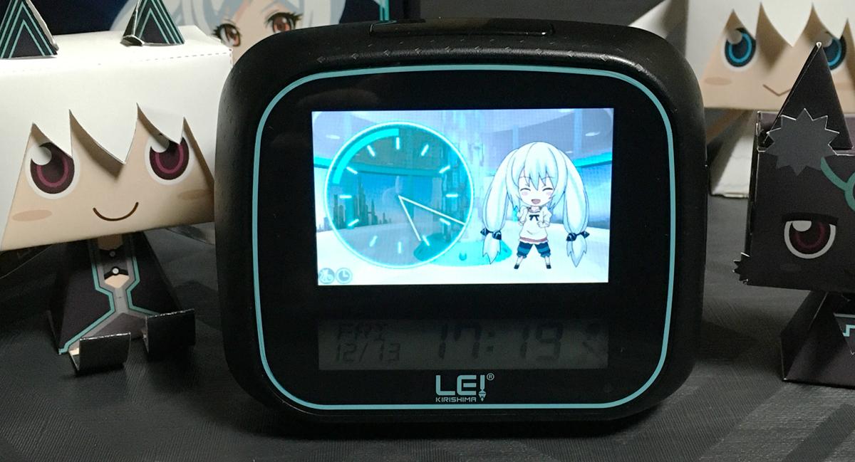 Lei Clockを車の中で使うのは無謀かな? 記事イメージ